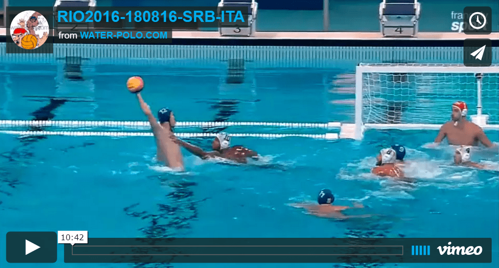 RIO 2016 : video Semifinal SRB – ITA  GOALS !!!