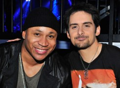 Brad Paisley and LL Cool J