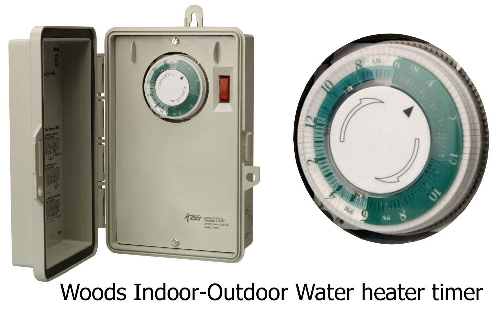 Magnificent Woods Water Heater See Larger Compare Box Timers Water Heater Timer Wiring Diagram Water Heater Timer Reviews houzz 01 Water Heater Timer