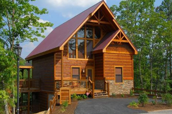 Beautiful Cabin at the Parkside Resort Pigeon Forge Tn