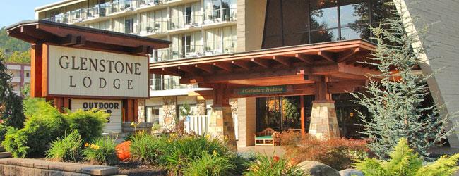 Glensteone Lodge Front Entrance wide