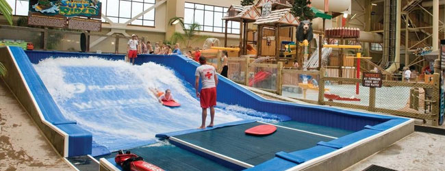 Wave Rider at the Wyndham Great Smokies Lodge Indoor Water Park wide