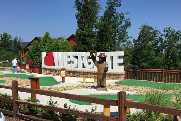 Miniature Golf Course at Westgate Smoky Mountain Resort