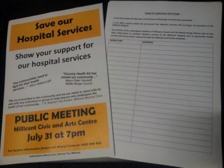 Public Meeting Program