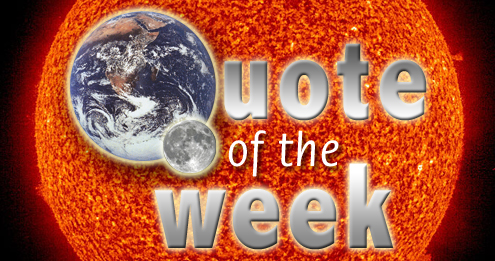 Quote of the week – the death