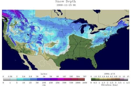 nearly two thirds of the continental usa gets a white
