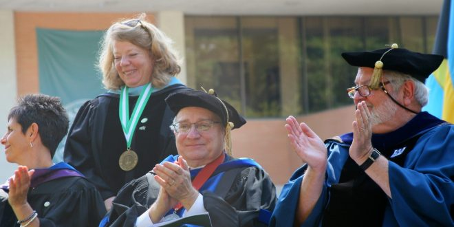 Dr. Colleen Wilson honored as 2016-17 Professor of the Year