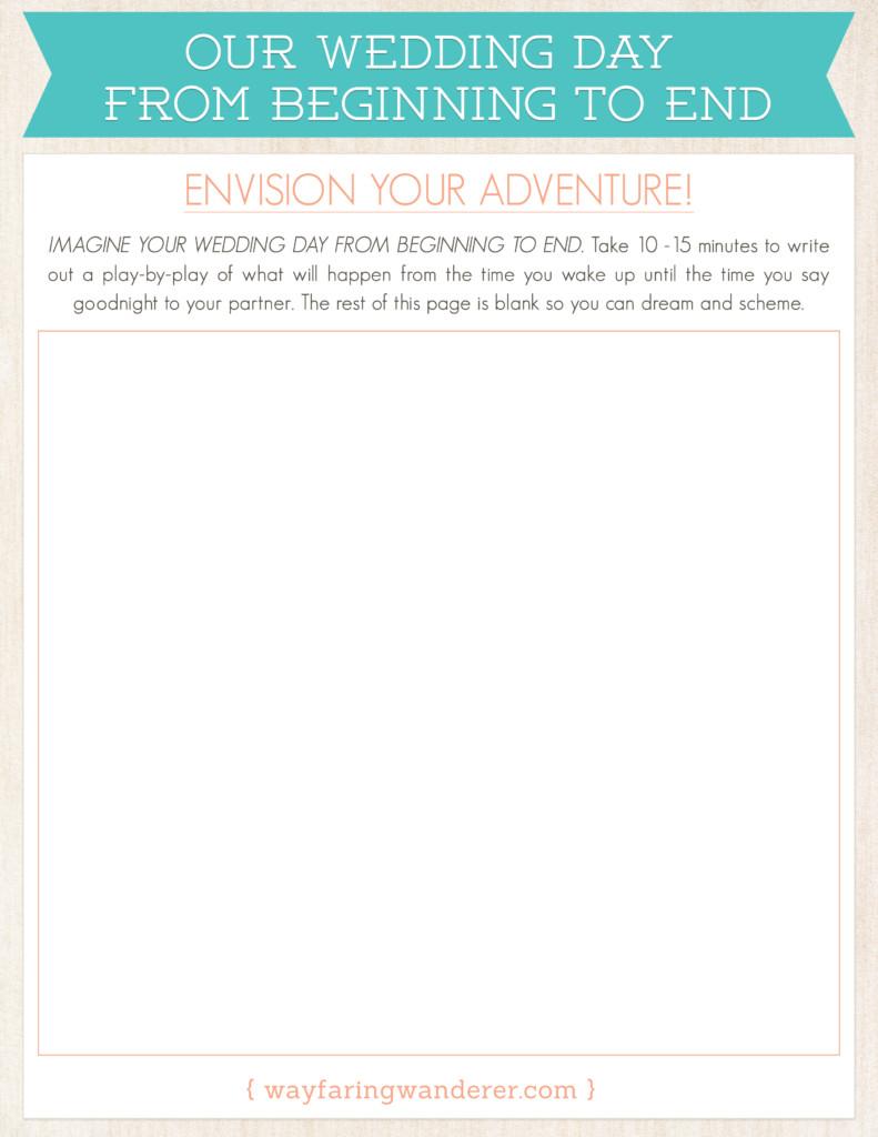Envision Your Wedding Adventure