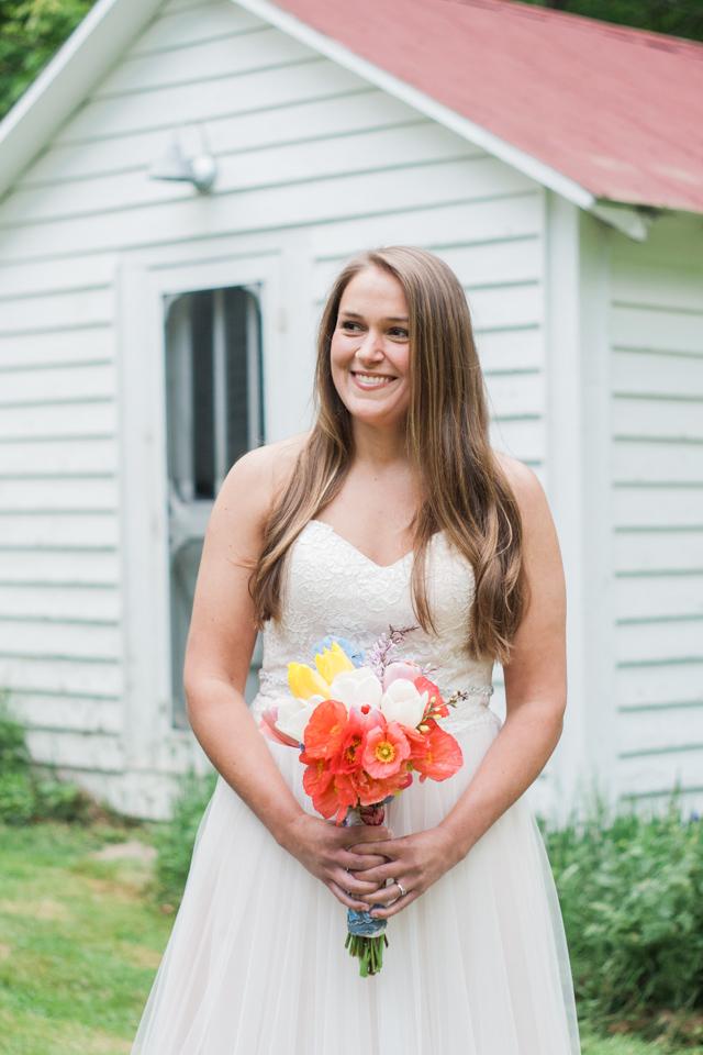 White Fence Farm Wedding - Bridal Portrait