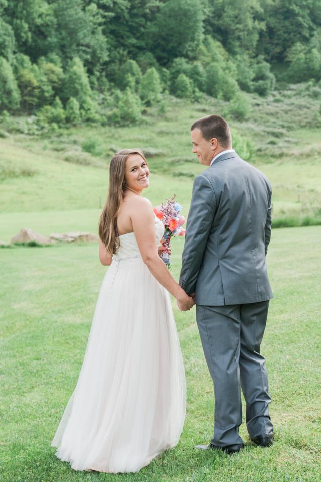 White Fence Farm Wedding - Bride & Groom Photos