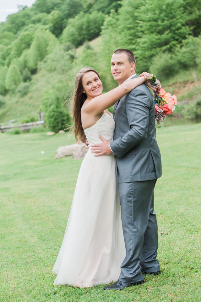 White Fence Farm Wedding - Bride & Groom Pictures