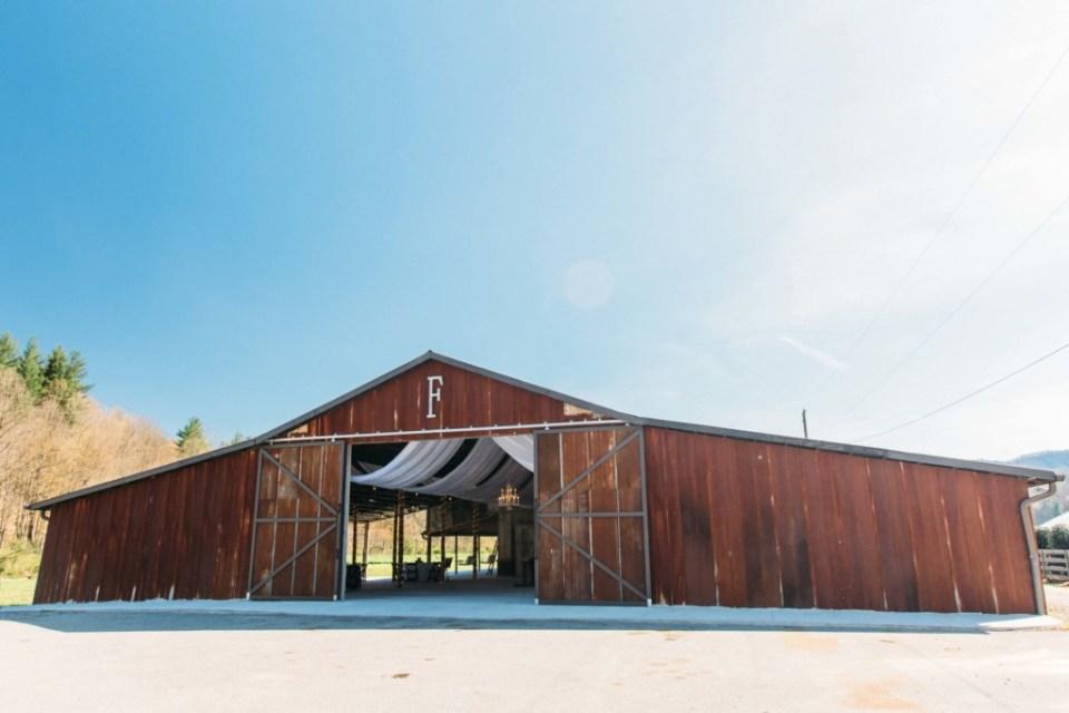 Fussell Farm Rustic NC Barn Wedding Venue