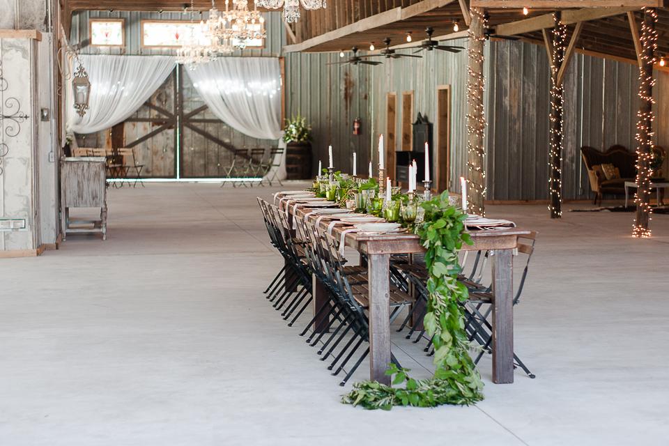 Greenery Wedding Decoration ideas
