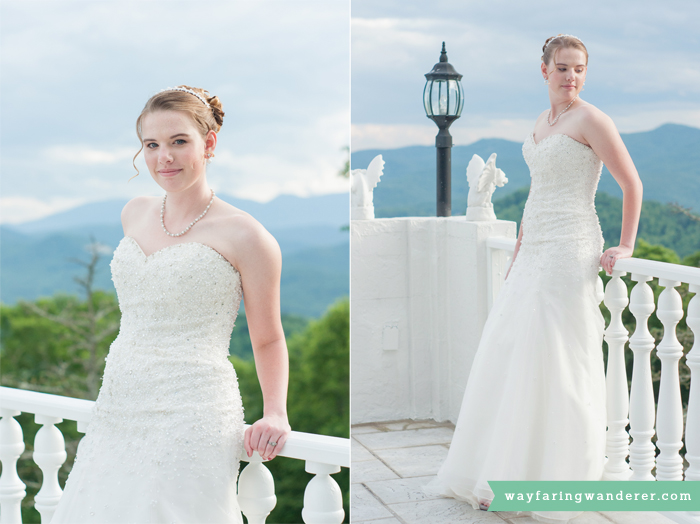 Wedding Dresses from South's Specialty Clothiers at Smithmore Castle in Spruce Pine, NC | Boone, NC Photographer