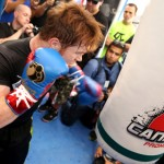 Saul Canelo Alvarez I do not train for a good show but to win
