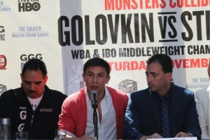 Golovkin - Stevens Press Conference