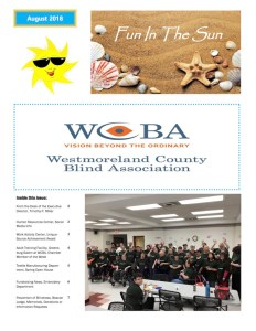 WCBA Summer 2018 Newsletter