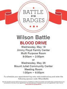 Wilson Battle Poster