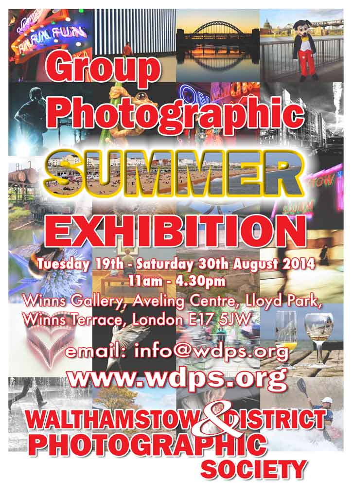 Summer Exhibition Walthasmtow Photographic Society
