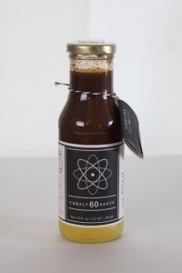 Cobalt 60 Sauce, a barbecue sauce made from 'supermarket mutants'