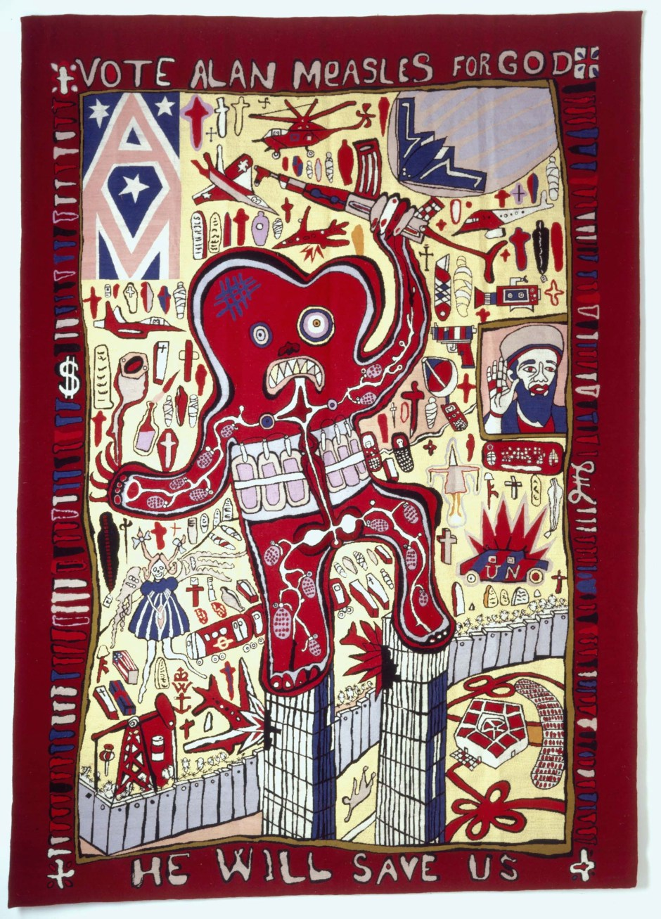 Grayson-Perry-Vote-Alan-Measles-for-God-2007