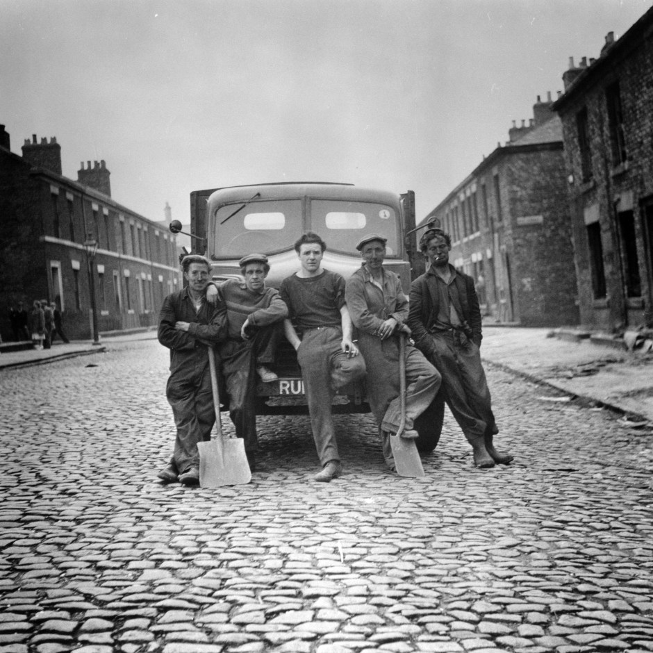 Demolition men, Newcastle. Jimmy Forsyth, 1956. Courtesy of Tyne and Wear Archives and Museums