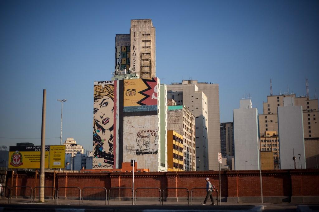 São Paulo por Breaking Borders. Foto: Walker Dawson.