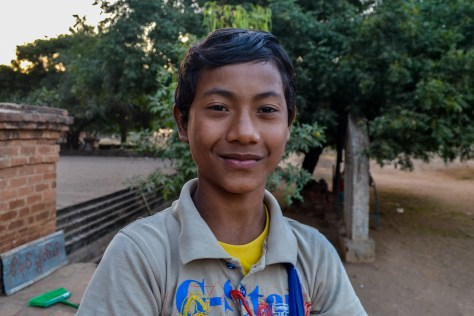 A Burmese boy working in the tourism industry. The new generation of children are experiencing something that their elders never had, the chance to make money in a growing economy.