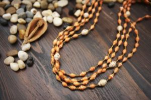 Paper Bead Necklaces {Giveaway}