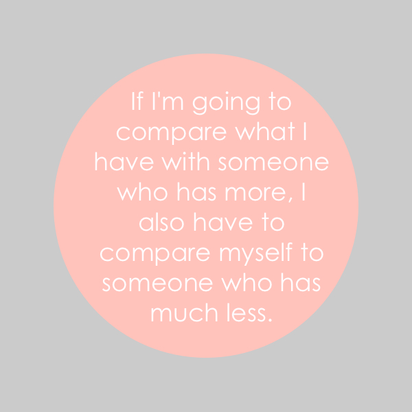 the only way to compare
