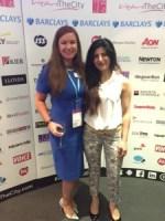 Caroline Graham and Vinita Ramtri at the Rising Star Shortlist Event