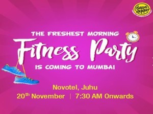 India's fresh fitness party DawnStepper debuts in Mumbai @ Various Locations