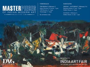 Save the Date | India Art Fair | Masterpieces of Indian Modern Art @ Booth F1 India Art Fair  | New Delhi | Delhi | India