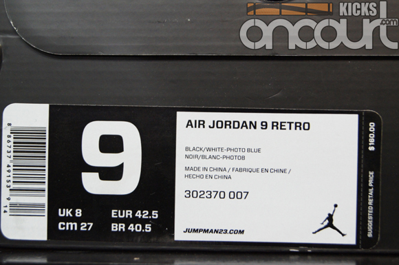 Air-Jordan-IX-(9)-Retro-Black-White-Photo-Blue-Detailed-Images-15