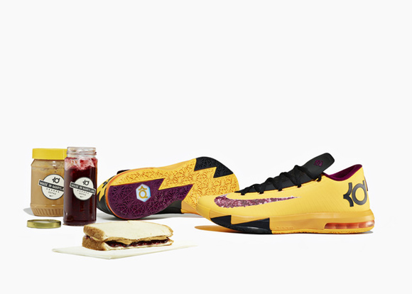 Nike KD VI Peanut Butter & Jelly - Detailed Look & Inspiration 1