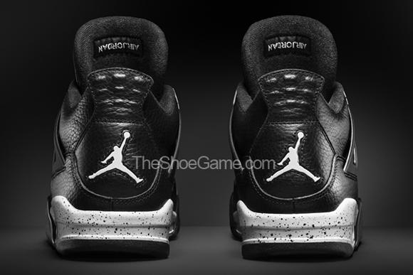 Air Jordan 4 Retro 'Oreo' - Official Look 3
