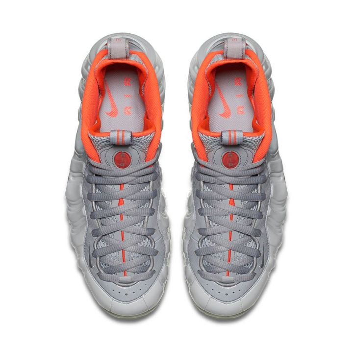 Nike Foamposite Pro Pure Platinum Yeezy top view
