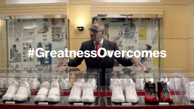 Watch J.B. Smoove Try and Figure Out Jordan's Flu Game in #GreatnessOvercomes