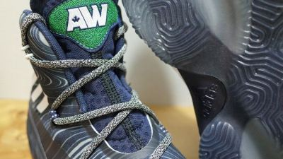 Adidas Crazy Explosive - Andrew Wiggins PE Away - Front Angle