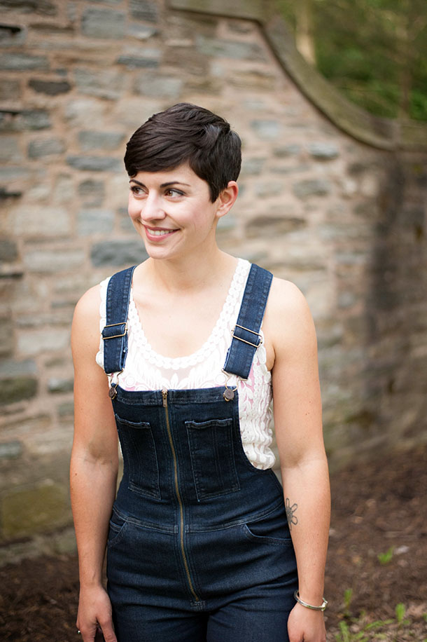 Gingham and Overalls Spring Fashion Style