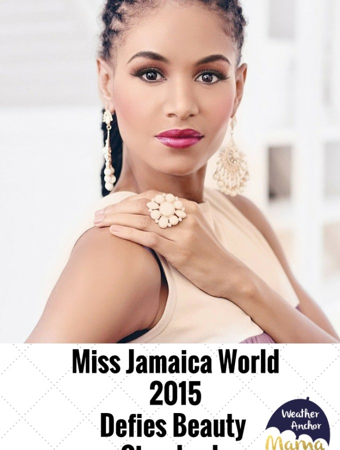 Miss Jamaica World2015Defies Beauty Standards