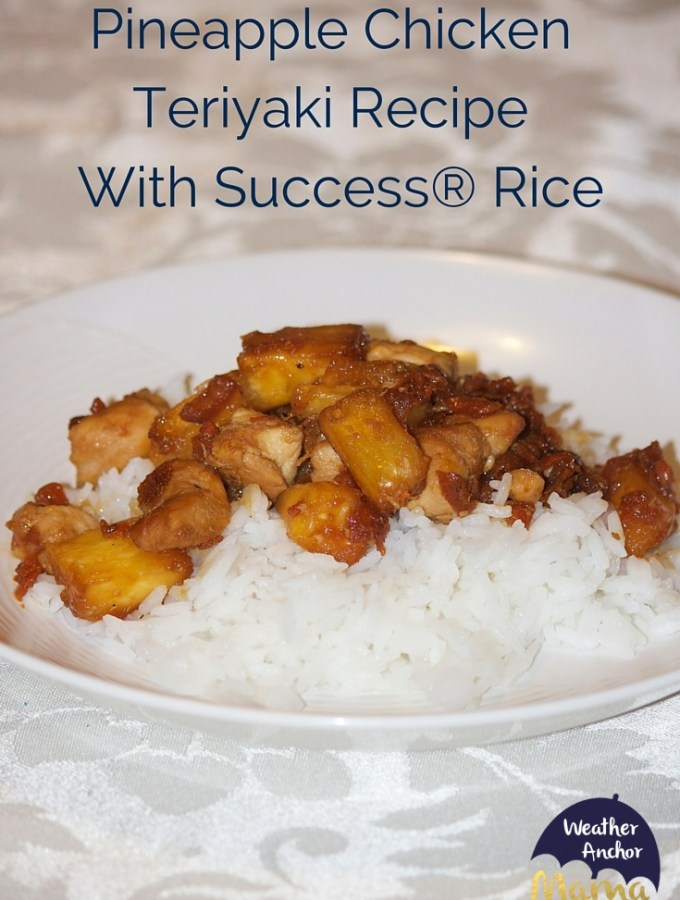 Easy-Pineapple-Chicken Teriyaki-Recipe-Success®-Rice