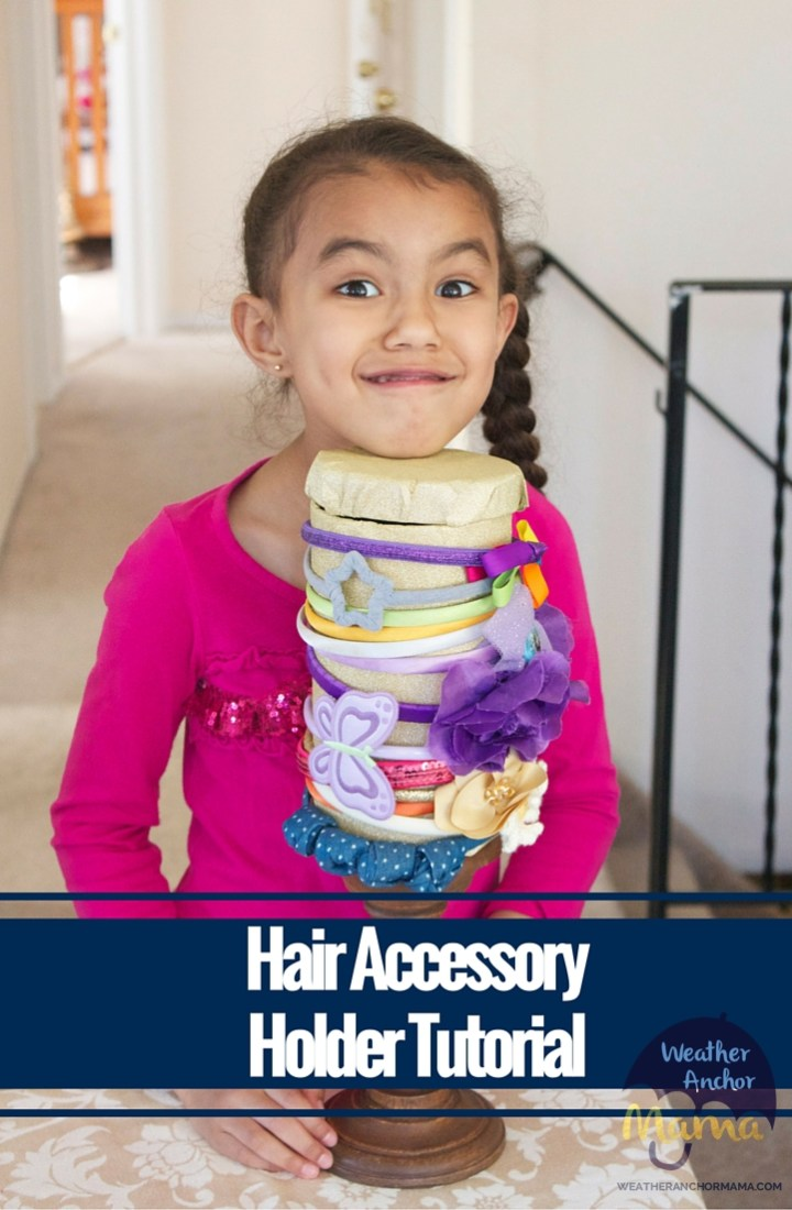 Hair Accessory Holder Tutorial