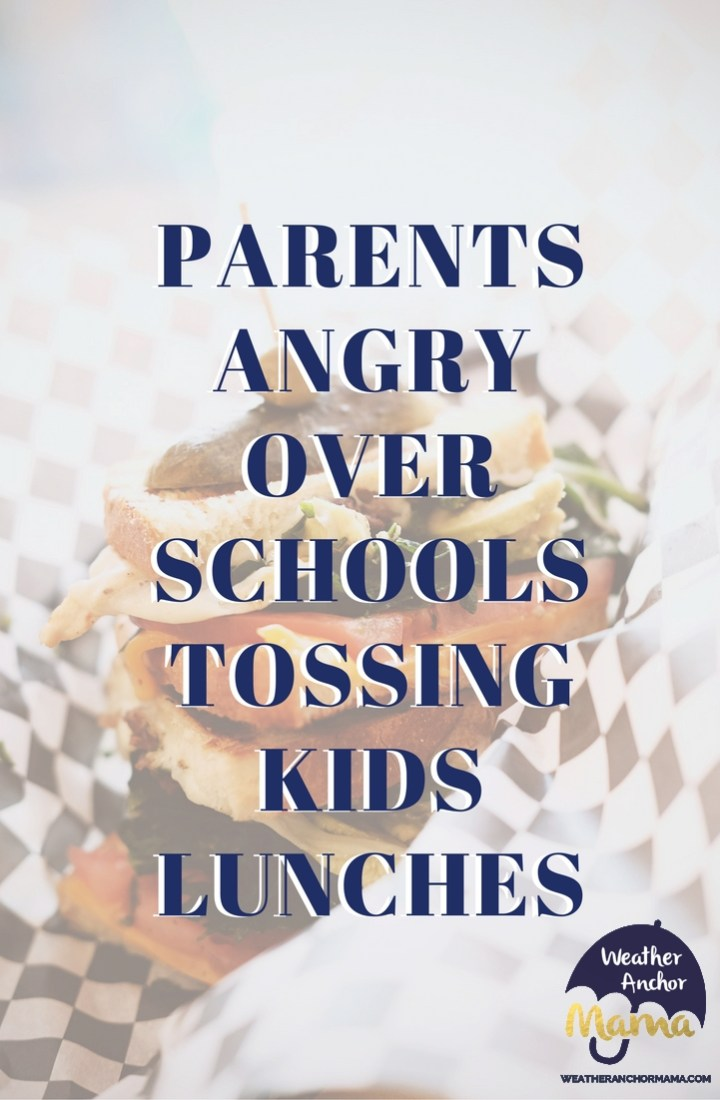 What Would You Do If Teachers Throw Away Student Lunches?