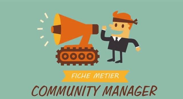Découvrez PLUS de 3 informations à savoir sur Le COMMUNITY MANAGER : Fiche métier