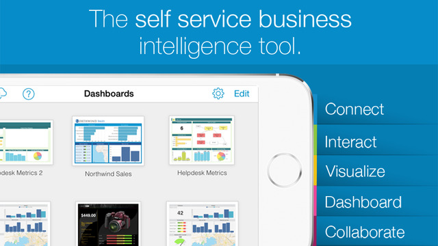 Application REPORT PLUS - MOBILE BUSINESS INTELLIGENCE