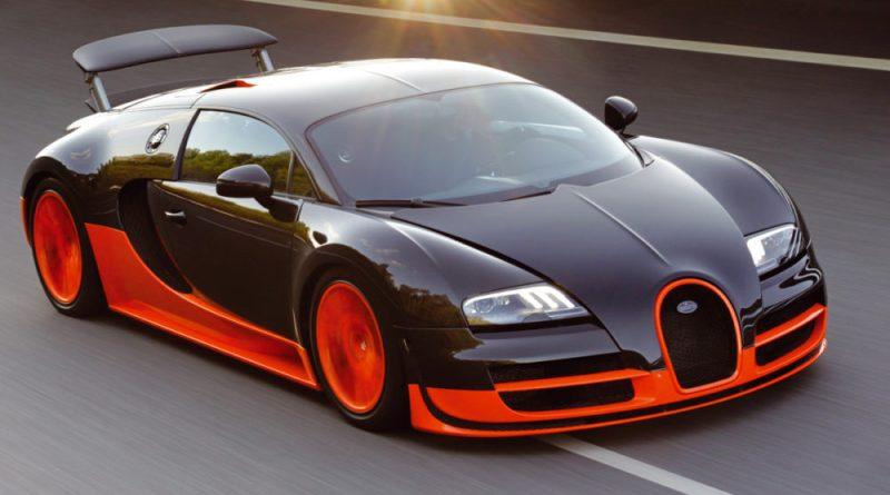 Bugatti Veyron Super Sport - TOP 10 historique : La voiture la plus rapide au monde