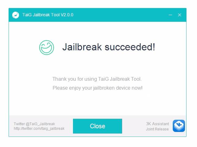 etape jailbreak 3 : Tutoriel de Jailbreak ios 8.1.3 , 8.2 , 8.3 et 8.4 avec TaiG