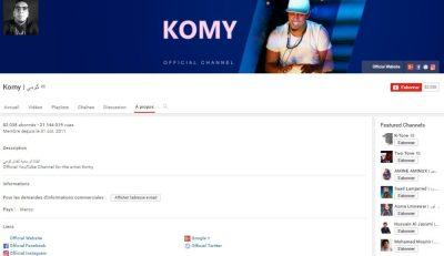Chaîne Youtube de Komy