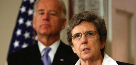 democrat activist carol keehan on team obama or team catholic?
